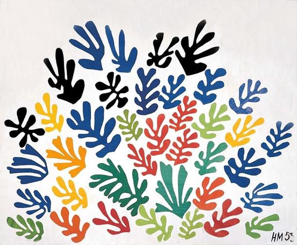 La Gerbe, by Henri Matisse
