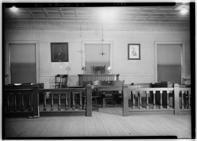 CASS COUNTY COURTROOM - LIBRARY OF CONGRESS