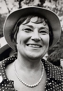 Bella Abzug was a major leader of the women's lib movement. Image courtesy of the Library of Congress.
