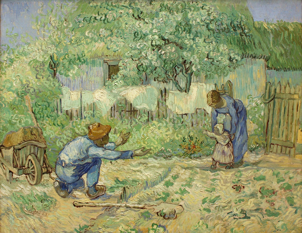 Vincent_van_Gogh_-_First_Steps,_after_Millet