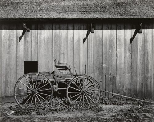 Ansel Adams_Barn near Pt Reyes California