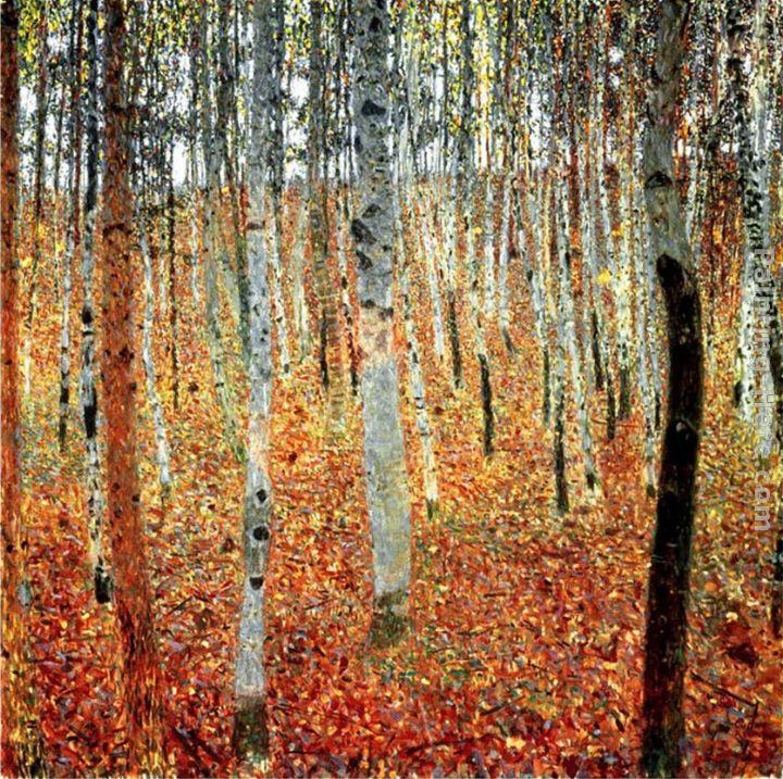 Forest of Beech Trees_gustav klimt