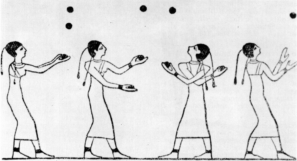 Egyptian jugglers