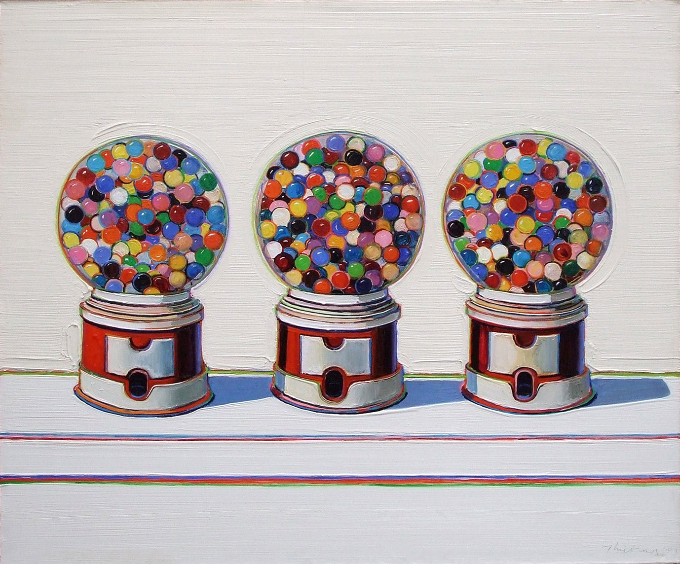 waynethiebaud_gumball_machine