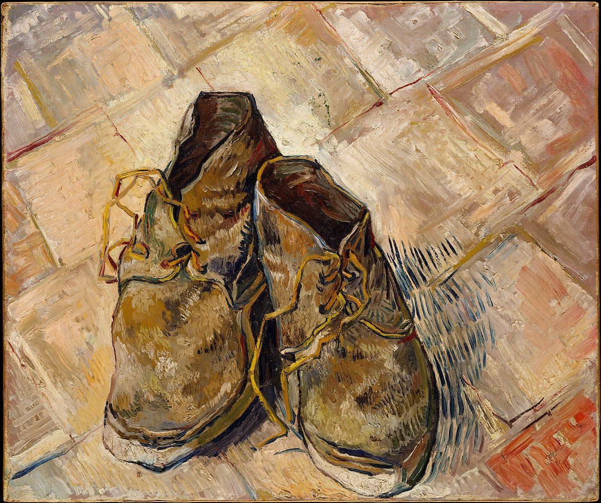 Shoes, Vincent Van Gogh (1888)